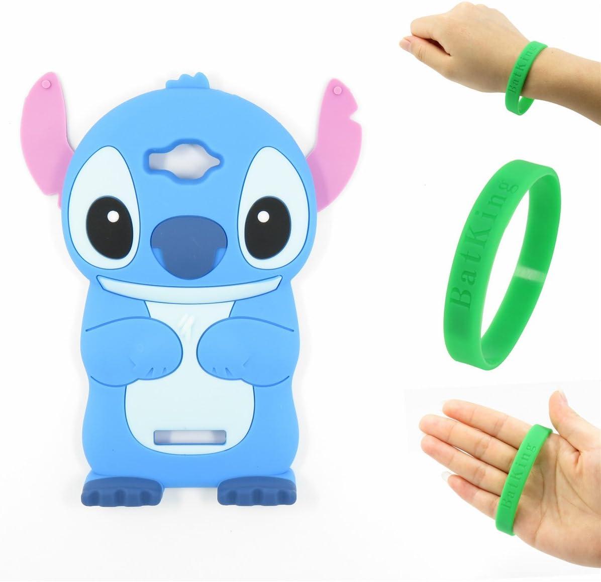 Funda para Alcatel One Touch Pop C7, Bat King 3D, diseño de búho Vivo con Dibujos Animados, de Goma de Silicona Suave, para Alcatel One Touch Pop C7 OT-7040E/7040A/7040X/7040F/7040D (búho Azul): Amazon.es:
