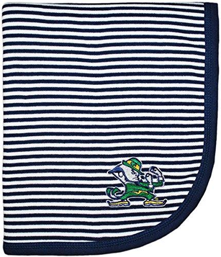 University of Notre Dame Fighting Irish Leprechaun NCAA Baby Blanket 33