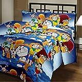 Factorywala Super Soft Cartoon Kids Design Print Reversible Single Bed Size 60*90 Dohar, Blanket, Ac Dohar Gift For Kids Offer Discount Price