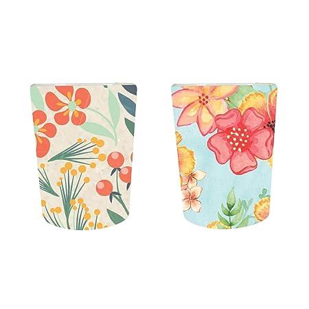YaYa Cafe� Floral Flower Exquisite Marvelous Decorative Pots Planter Indoor (Only Pots) Set of 2