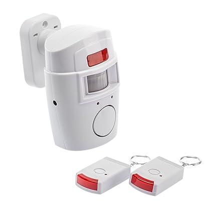 Kobert Goods – Alarma con sensor de movimiento uso como protección de robo de alarma inalámbrico