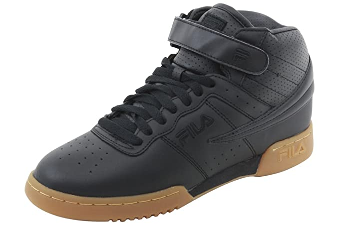 Fila Men's F-13 Black/Gum Athletic Sneakers Shoes