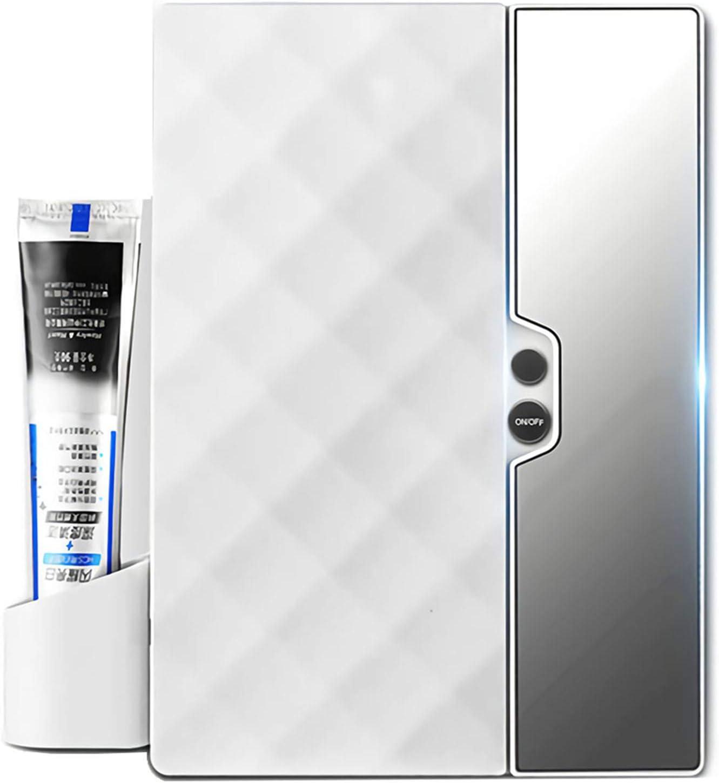 Antibacteria UV Automatischer Zahnb/ürstensterilisator USB-betriebene Zahnb/ürstenhalterung mit Zahnpastaquetscher N//A NA Zahnb/ürstenhalter