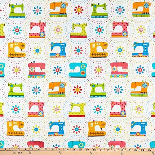 sewing machine print fabric - 9