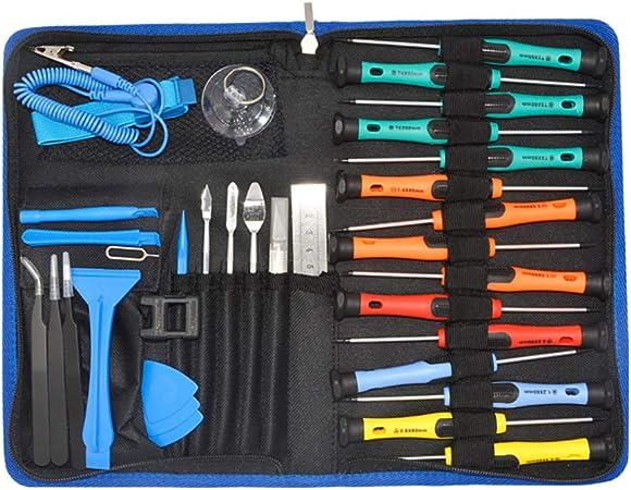 32 en 1 Premium Réparation Téléphone Mobile Torx Tournevis Outil Set Kit pour chat