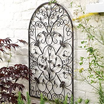 Spanish Decorative Metal Garden Wall Art Trellis Amazon