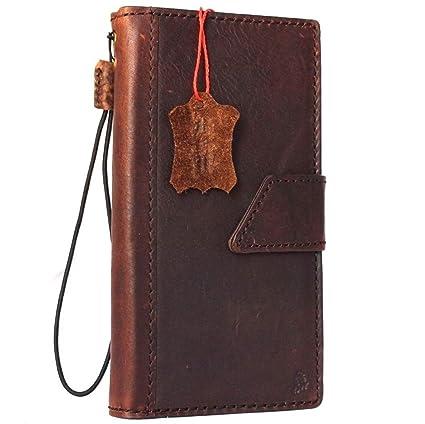 Amazon.com: Funda de piel para Iphone 6 4.7 inch libro hecho ...