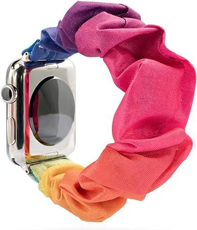 Scrunchie Uhrenarmband Für Apple Watch Weich Und Elektronik