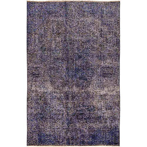 (Solo Rugs Vintage Hand Knotted Area Rug, 4' 8