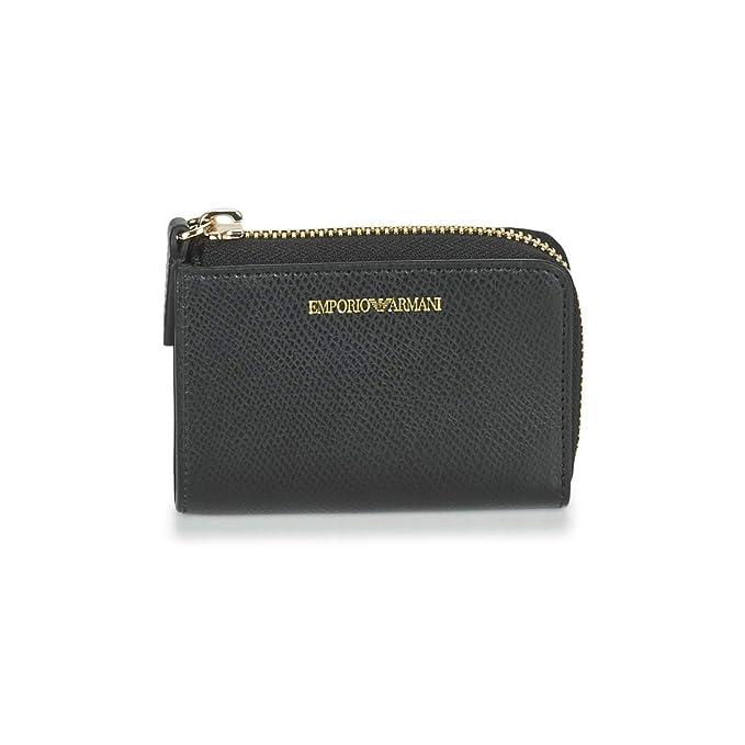 Emporio Armani Portadocumenti in similpelle nera borse