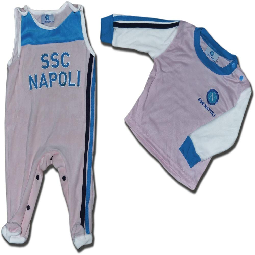 ssc napoli Baby Jungen 0-24 Monate Overall