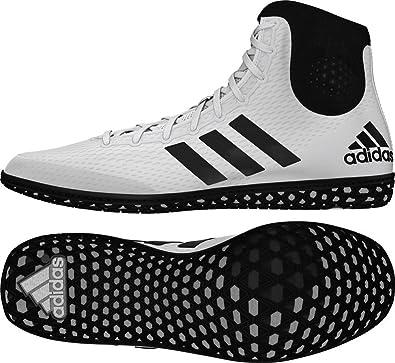 adidas Tech caída 16 Río de Lucha Libre Zapatos White-Red: Amazon ...