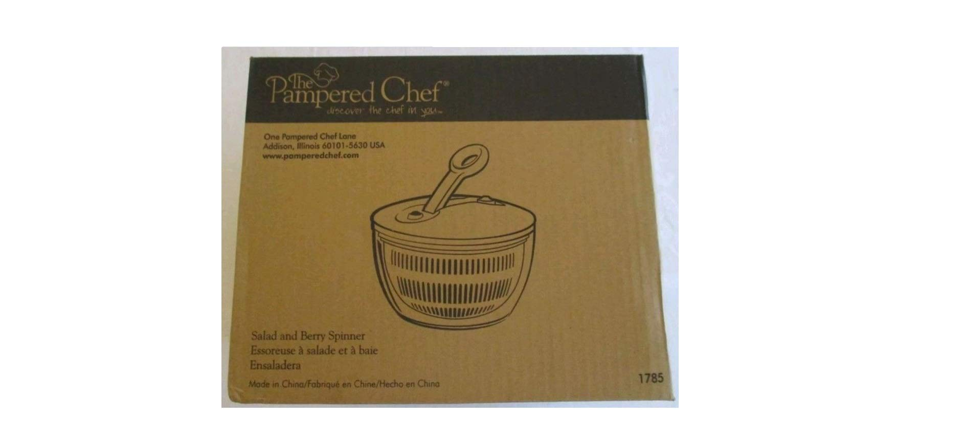 Pampered Chef Salad and Berry Spinner by Pampered Chef