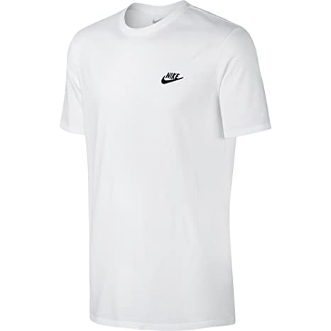 NIKE Sportswear Men s Club Embroidered Futura Tee  Amazon.com.au  Sports 46b39333a842