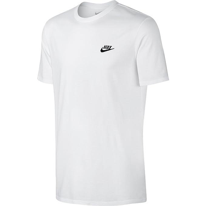f5f68c9105 Nike M NSW Tee Club Embrd Ftra, Maglietta Uomo: Amazon.it: Abbigliamento