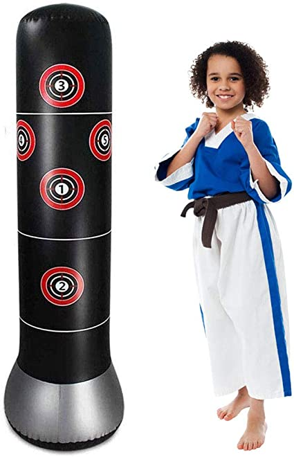 Boxing Punch Bag Children Punching Bag Kids Training Fitness Special Gift Pack