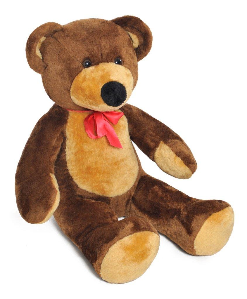 Marronee 105cm gree Giant gree Teddy orso Soft Plush giocattoli Gift (colour  Marronee)