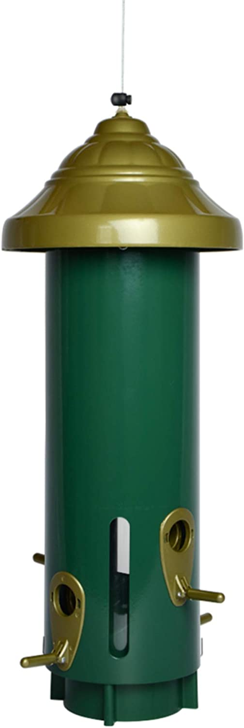 Nature's Way Bird Products MSP1 Metal Squirrel Proof Feeder, Green