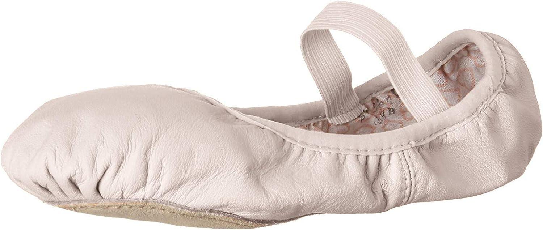 Bloch Dance Girl's Belle Full-Sole Leather Ballet Shoe / Slipper