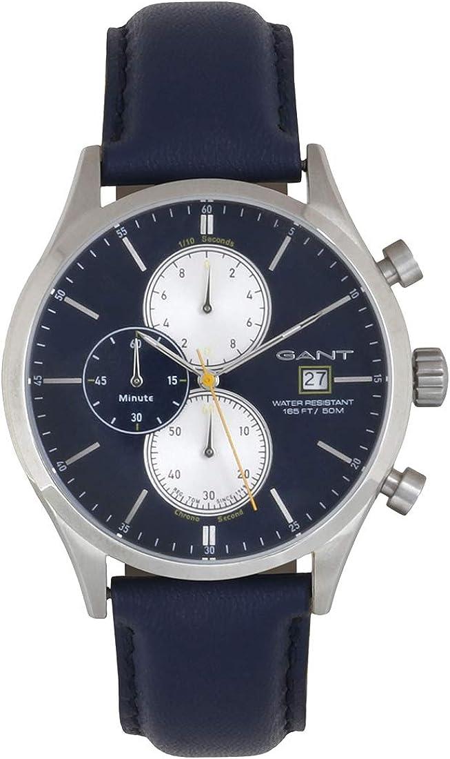 Reloj Gant Reloj Analógico-Digital para Unisex Adulto de Cuarzo con Correa en Aleación 1