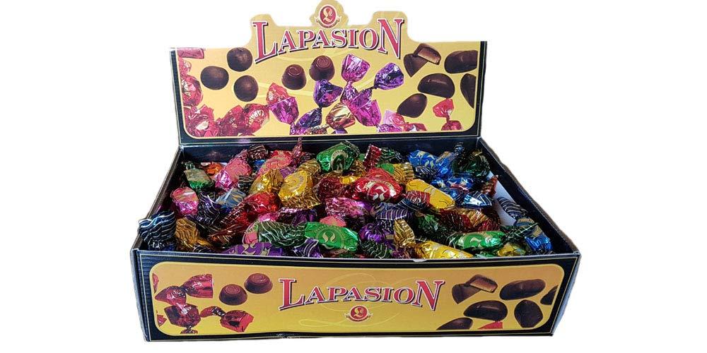 LAPASION - Fruta de Aragón bañadas en cobertura de chocolate 2.5Kg