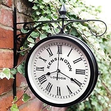 Al aire libre jardín Kensington estación exterior soporte de pared ...