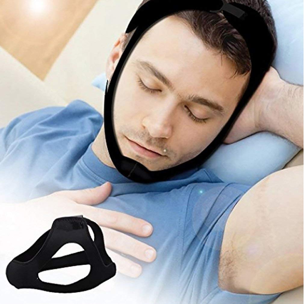 FDBF Triangular Snoring Belt Sleeping Snoring Chin Strap Cloth Anti-Snoring Belt