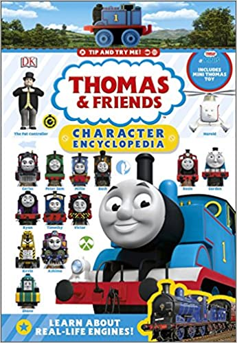 Thomas Friends Character Encyclopedia With Mini Toy Amazoncouk DK 9780241310106 Books