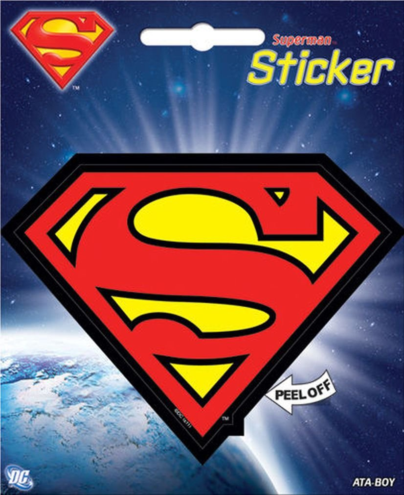 Ata-Boy DC Comics Wonder Woman Logo 4 Full Color Sticker 45155S