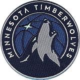 2017 Minnesota Timberwolves Team Logo NBA Basketball Embroidered Jersey Patch
