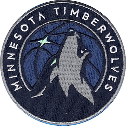 fan products of 2017 Minnesota Timberwolves Team Logo NBA Basketball Embroidered Jersey Patch