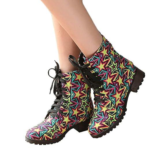 d3951b2d891e99 TianWlio Frauen Herbst Winter Stiefel Schuhe Stiefeletten Boots Warme  Schuhe Wild Tassel Mittleres Rohr Schneestiefel Kurze Plüsch Damen Stiefel  Gelb 35-43  ...