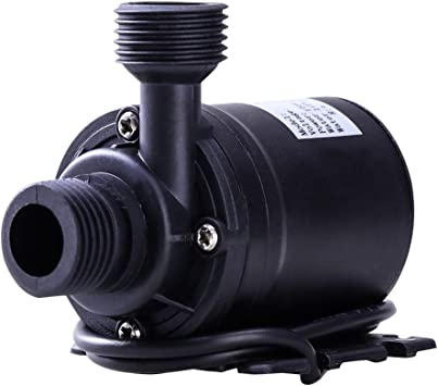 Comprar UEETEK DC 12V 800L/H 5M Sin escobillas bomba de agua sumergible para la piscina de la fuente Sistema de circulación solar sistema de circulación de agua