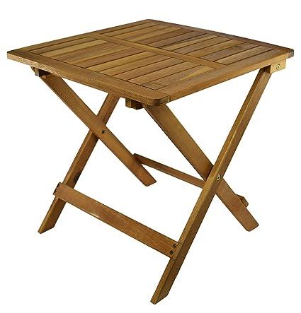 Amazon De My Goodbuy24 Beistelltisch Klapptisch Holztisch