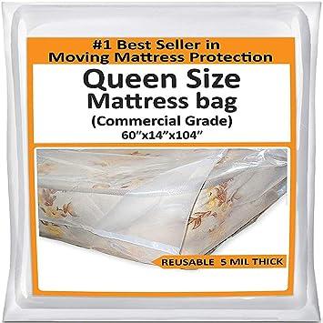 Amazon Com Mattress Bags For Moving Queen Mattress Storage Bag