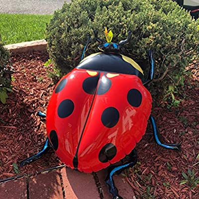 Jet Creations Bugs Inflatable Ladybug Honeybee Bumble Bee Set Toys Educational Decorations Props Gift & Favors Stuffed Animals An-BUGBEE, Multicolor: Toys & Games