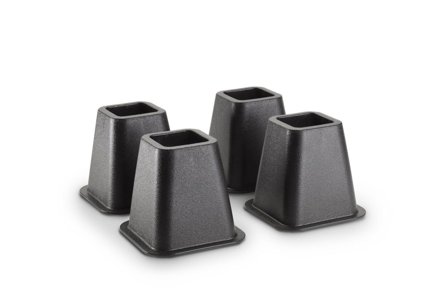 Generic YC-US2-151102-250 <8&28781> ck, Newk Bed Riser Black Bed Home Collection Risers, 5 to 6-inch 4-pack, New Home Collec