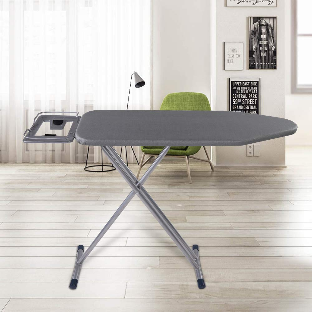 GOTOTOP Ironing Board, Portable Flame Retardant Ironing Board Folding Table Home Hotel Laundry Use