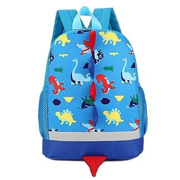 DafenQ Cute 3D Cartoon Baby Toddlers Backpack Nursery Kindergarten Book Bag  Kids Preschool Schoolbag for Boys Girls (Blue)  Amazon.co.uk  Luggage fcaf92c838