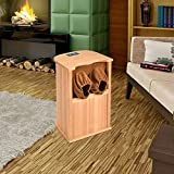 Infrared Wooden Dry Spa Foot Sauna w/ Carbon Fiber Heaters - By Choice Products
