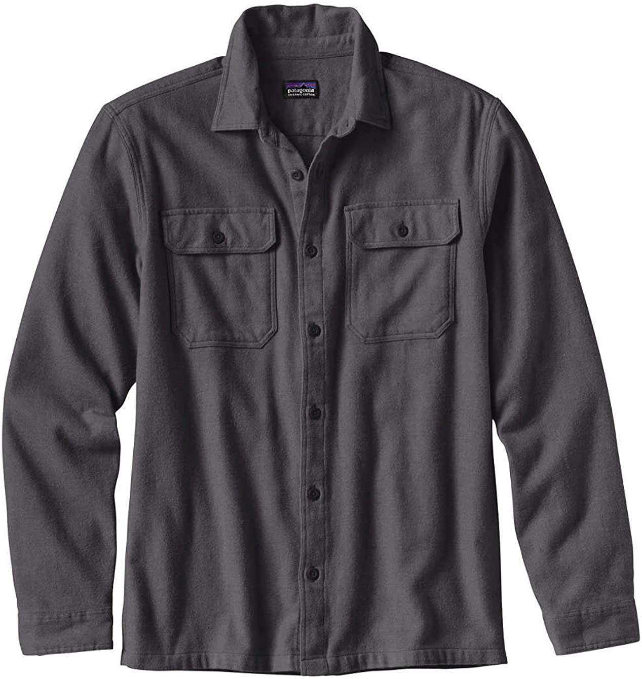 TALLA S. Patagonia M's L/S Fjord Flannel Camisa, Hombre