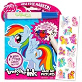 My Little Pony Imagine Ink Book Set (Includes Mess Free Marker and Stickers)