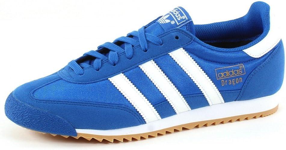 adidas Originals Mens Dragon OG Blau Sneaker Low