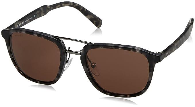 Prada Hombre 0PR12TS VH38C1 54 Gafas de sol, Gris (Matte ...