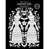 Autumn falls (night edition): printed on black paper