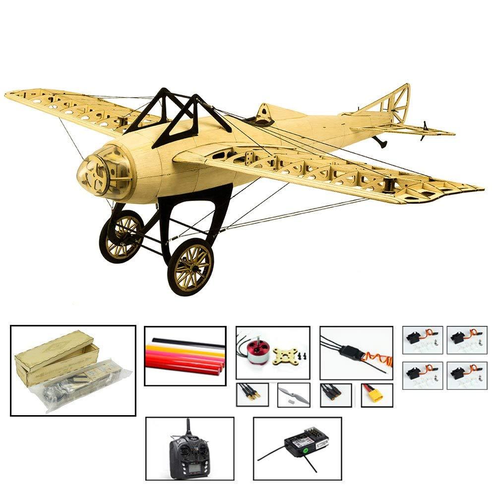 Generic 2019 New Scale RC Balsawood Airplane LaserCutting Deperdussin Monocoque 1000mm (39 ) Balsa Kit DIY Building Wood Model S2204BL2R2