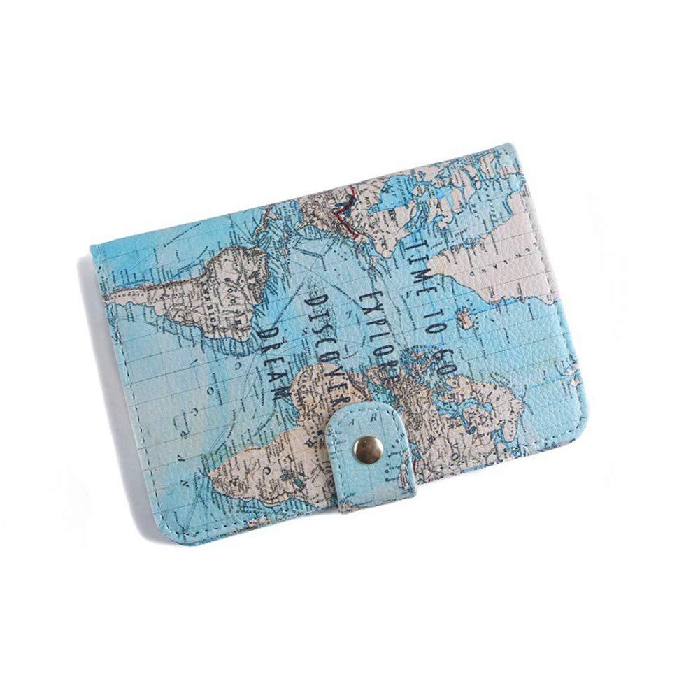 Sass /& Belle Geldbörse Weltkarte Portemonnaie Geldbeutel Urlaub Reise world map