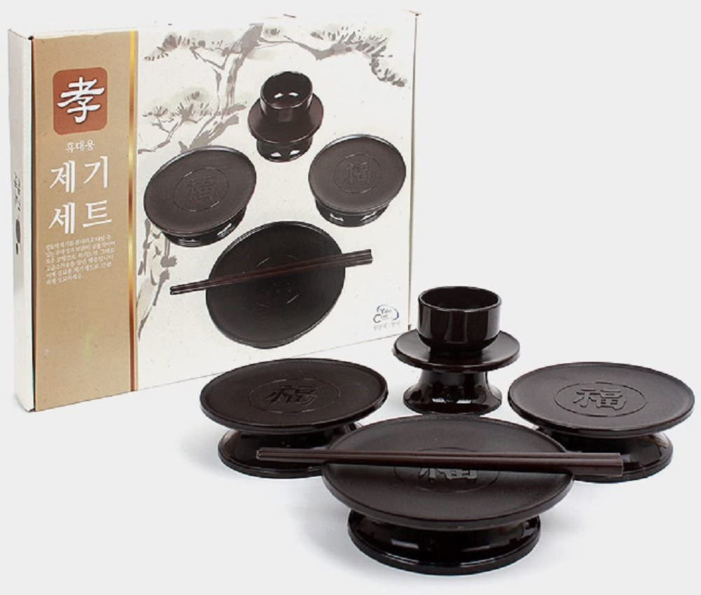 Yahocom Korean Ancestral Rite Goods Jegi Set 6P Portable