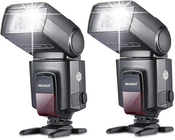 Neewer Tt560 Zwei Blitzgerät Blitz Speedlite Set Für Kamera