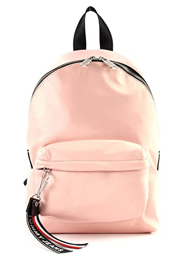 239226ae39 TOMMY HILFIGER Tommy Jeans Logo Mini Backpack Satin Rose Cloud ...
